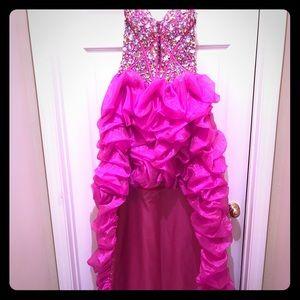 Cinderella_Strapless Gown